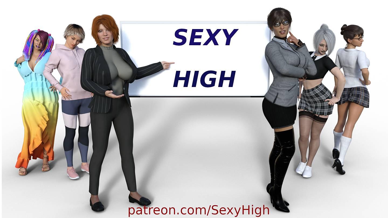 Sexy High [v0.2] [KJ Studios 2020]